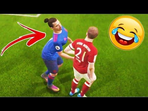 FIFA 17 FAILS - FUNNY & RANDOM MOMENTS ! Glitches & Thug Life Compilation #2