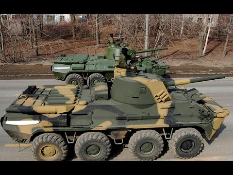 САУ 2С9 НОНА Оружие, которое покорило специалистов НАТО