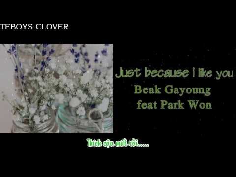 Just because i like you -Beak Gayoung (Vietsub)