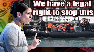 Priti useless Patel gets EXPOSED incapable of enforcing our borders