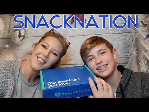 SnackNation December 2019 Unboxing!  Love It Or Chuck It?