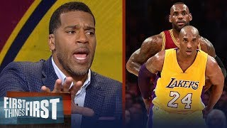 Download Kobe or LeBron: Jim Jackson's unique insight expels the NBA's biggest myth | FIRST THINGS FIRST Mp3 and Videos
