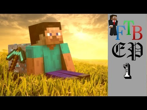 Lets Play: FTB Unleashed!  Ep. 1 -The Start-