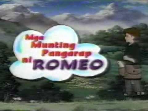Mga Munting Pangarap ni ROMEO 1997 2004 ABS CBN Opening Billboard