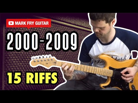 Top Guitar Riffs 2000s