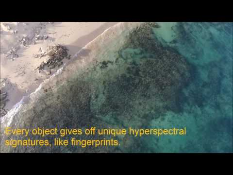 QUT's hyperspectral camera and UAV system at work above Ningaloo Reef