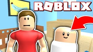 I AM A BABY?! (Roblox Who's Your Daddy!)
