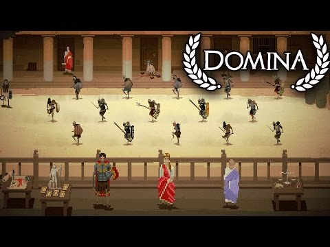Epic Gladiator Battles!  Domina Gladiator Simulator (Domina Early Access)