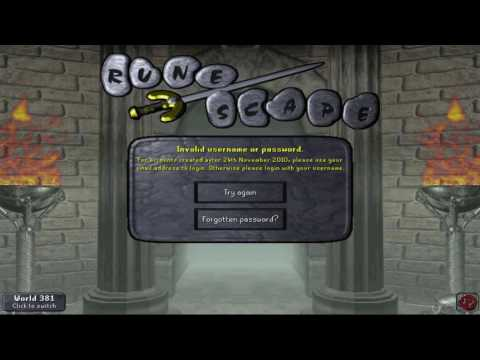 [OSRS] Logging into my banned account for first time