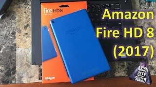 Amazon Fire HD 8 with Alexa (2017) Unboxing (Blue) - The $80 Android Tablet!