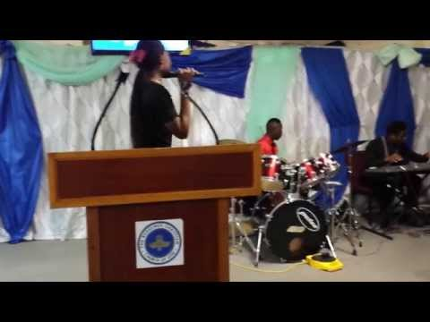 Glorified by Salvation Ministries Choir, performed by The RCCG Manifestation Parish choir, St Kitts.