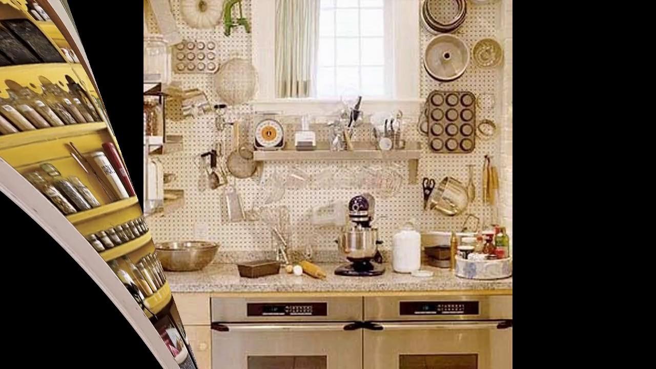 Ideas de almacenamiento de cocina para cocinas pequeñas - YouTube