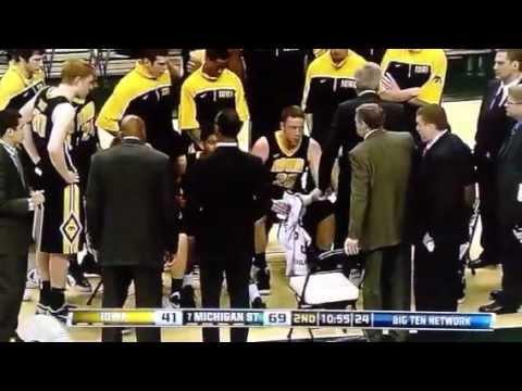 TheMarchtoMadness.com: Iowa's McCaffery slams chair