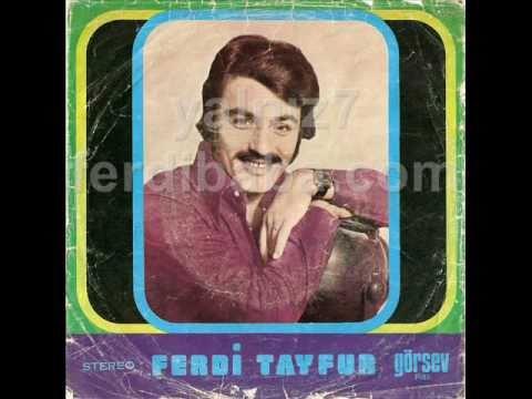 Ferdi Tayfur - Sana Kaderimsin Dedim - Görsev Plak 30 A (orijinal Plak)