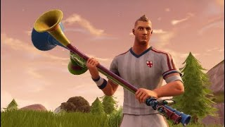 Fortnite nouvelle peau, kits de football, peaux de football, peaux de coupe du monde, hache pic vuvuzela