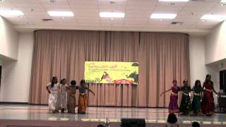 Mountain House Onam Celebration 2012 - Group Dance - Chanchala druda pada thalam