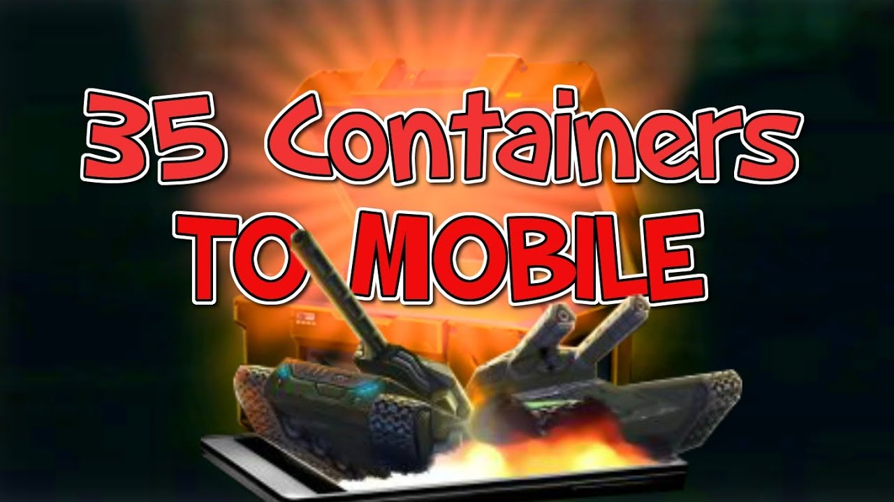 Tanki Online  კონტეინერების ტელეფონით გახსნა