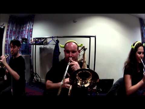Gadoc Shrek Musical   Orchestra Pit Duloc Sections