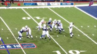 Cardale Jones' Throws vs  Colts