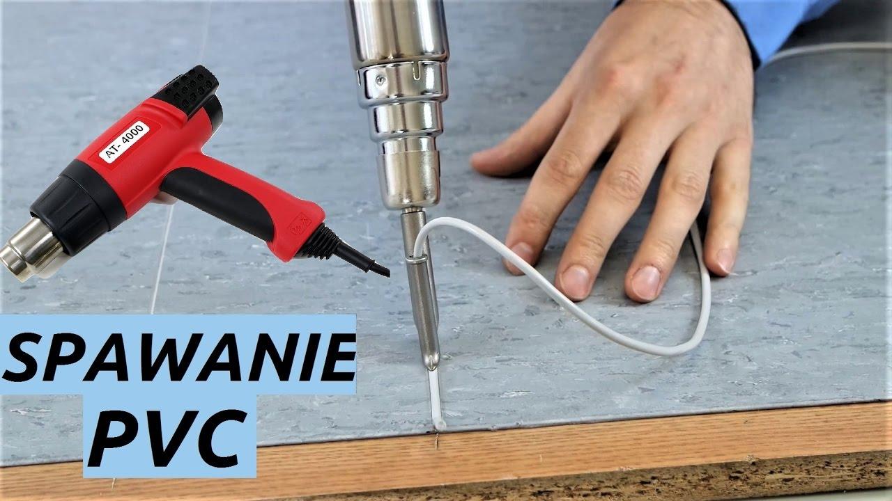 Masywnie Jak spawać wykładzinę PVC ? - Spawarka do PVC - AT-4000 - YouTube LO24