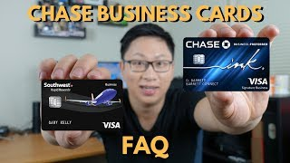 Chase Business Cards FAQ
