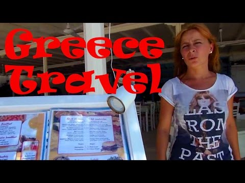 How to Travel in Greece CRAZY CHEAP!! The Greek Islands