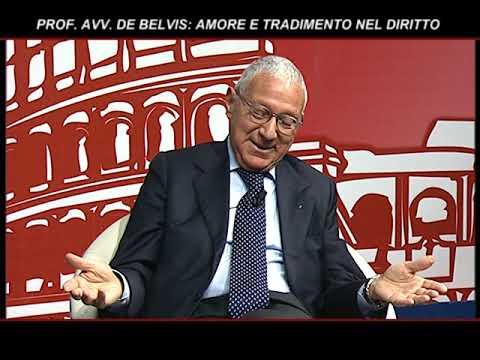 AVV. PROF. DE BELVIS: AMORE E TRADIMENTO NEL DIRITTO