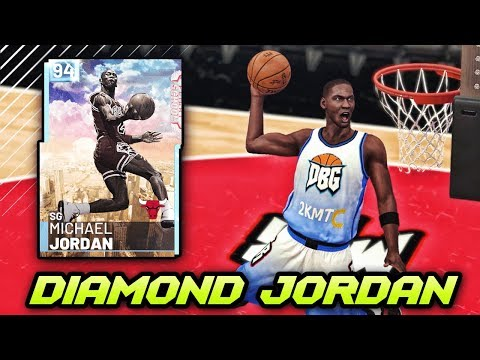 NBA 2K19 DIAMOND MICHAEL JORDAN GAMEPLAY!! *HOF POSTERIZER* | WORTH IT IN NBA 2K19 MyTEAM?