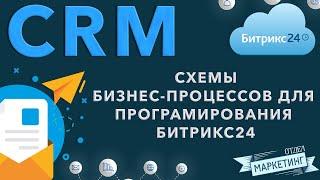 Построение схем бизнес процессов для дальнейшего программирования в Битрикс24