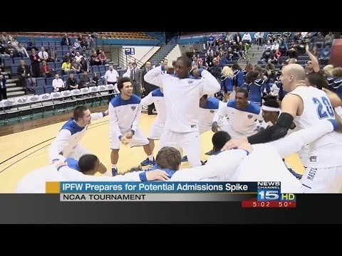 NCAA tournament could mean economic boost for IPFW