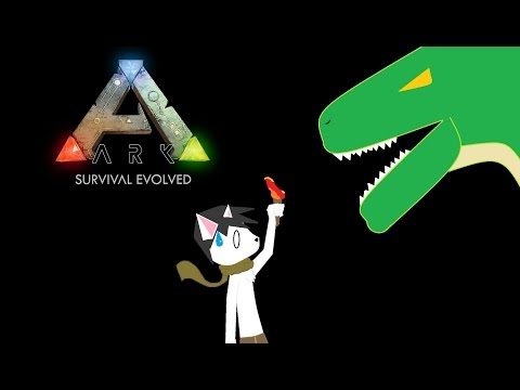 Ark Survival Ep. 1 - A New World, Starving, & First Blood