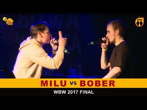 BOBER vs MILU 🎤 WBW 2017 🎤 Finał XV Edycji (FINAŁ) Freestyle Battle