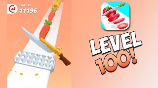LEVEL 100 & MORE KNIFES IN PERFECT SLICES!