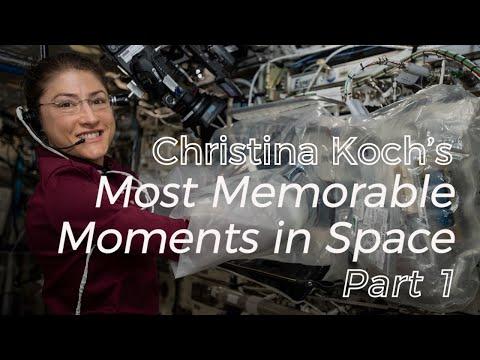 Christina Koch's Memorable Moments: Part 1