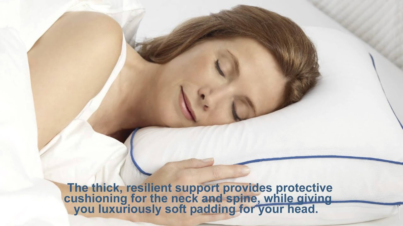 Pillow for side sleepersSleep Better Iso Cool Memory Foam Pillow