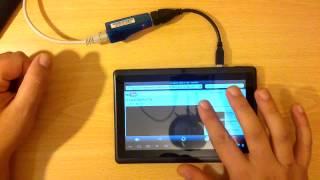 Ethernet 10 100 Mbps Réseau Adaptateur USB   RJ45 thumbnail