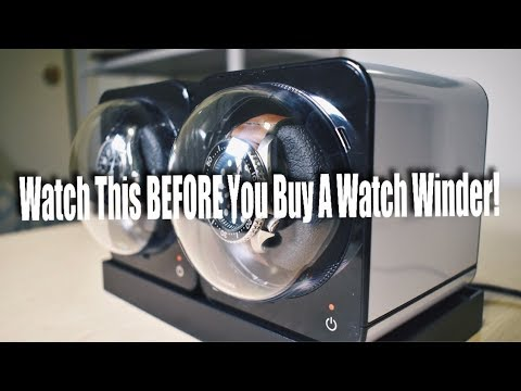Watch This BEFORE You Buy A Watch Winder!!