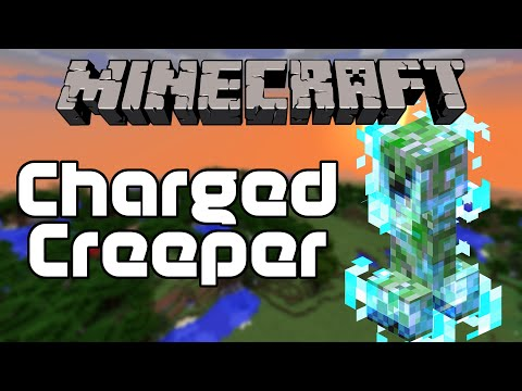 Minecraft Charged Creeper 8.5