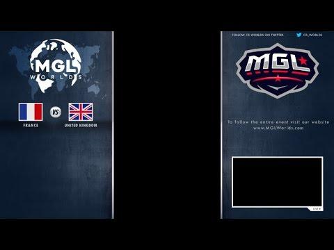 France vs UnitedKingdom MGL Worlds (ARABIC)