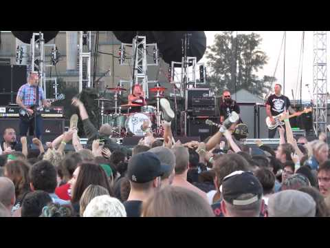 Rancid: Fall Back Down, live @ Riot Fest Toronto, Sept 20, 2015