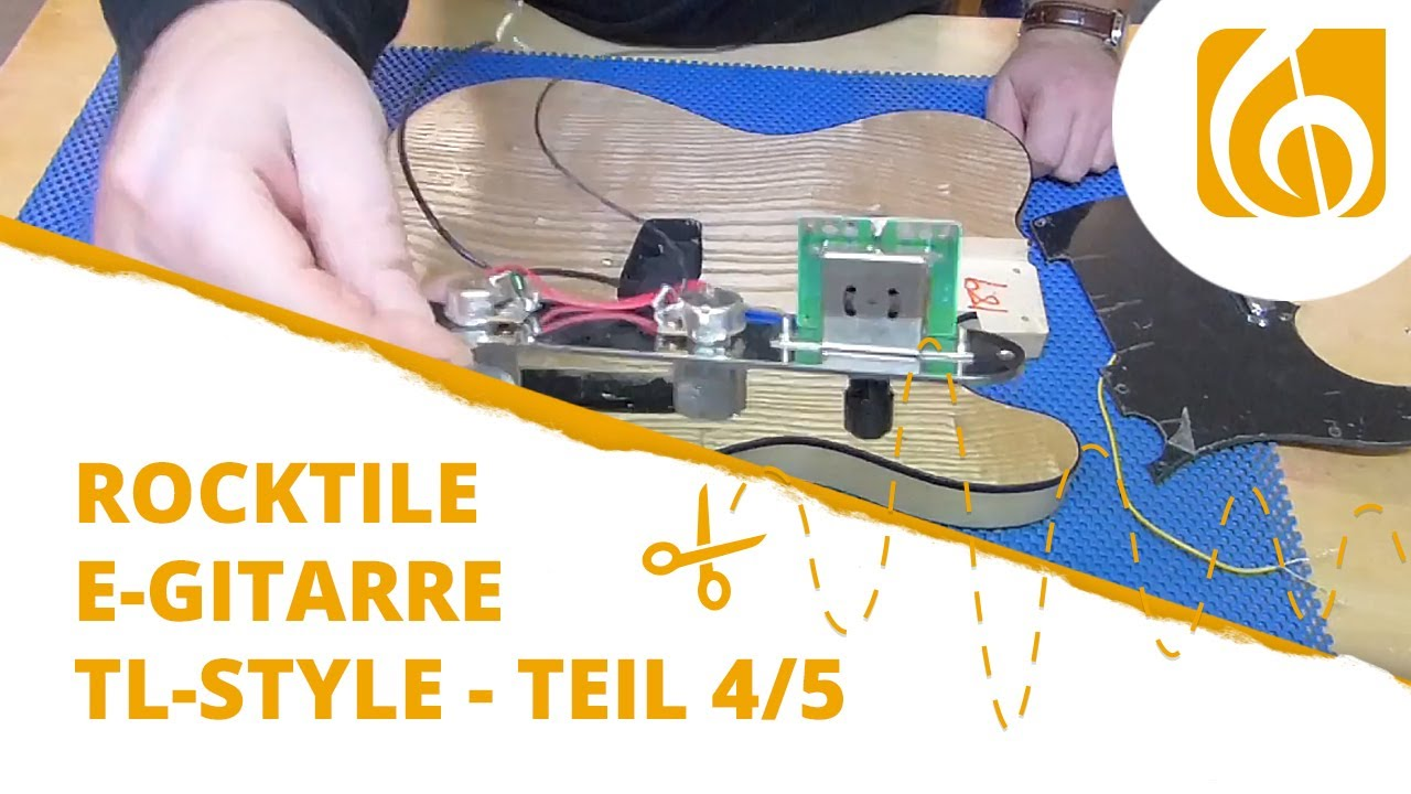 maxresdefault rocktile e gitarren bausatz tl style teil 4 elektronik youtube,Wiring A Telmaster Guitar Kit Youtube