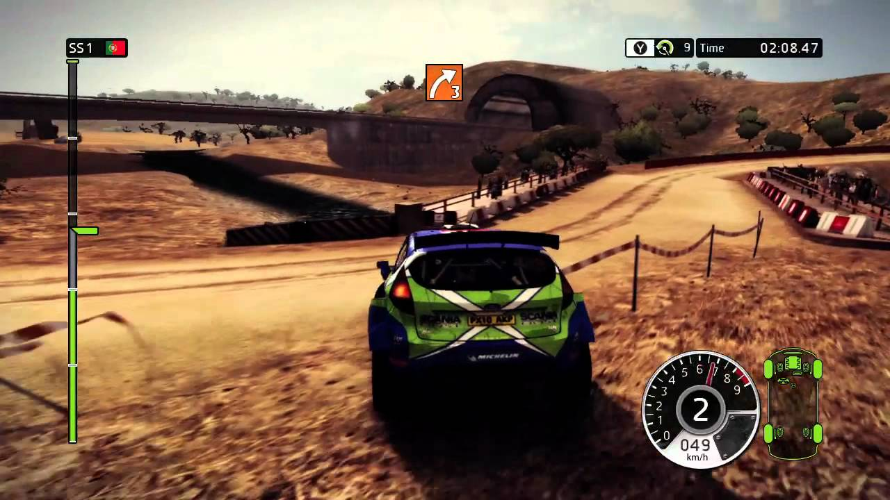 wrc fia world rally championship 2 xbox 360 gameplay youtube. Black Bedroom Furniture Sets. Home Design Ideas