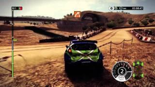 WRC FIA World Rally Championship 2 Xbox 360 gameplay