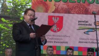 Burmistrz Moniek Zbigniew Karwowski - Dożynki Wojewódzkie 2011