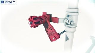 How To Install A Universal Valve Lockout Device