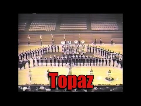 1986 TCHS Trojan Marching Band: Topaz (in stereo--from Band-O-Rama 1986)
