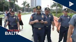 NCRPO, nag-inspeksyon sa paligid ng Luneta
