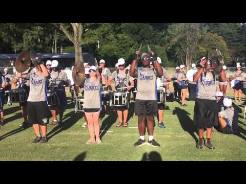 The mighty sound of the south plays for the Memphis Tigers football team