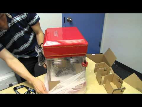 Cuisinart Old Tyme Popcorn Maker Unboxing & First Look Linus Tech Tips
