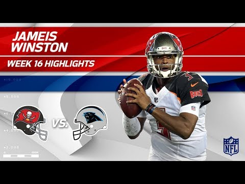 Jameis Winston Highlights | Buccaneers vs. Panthers | NFL Wk 16 Player Highlights